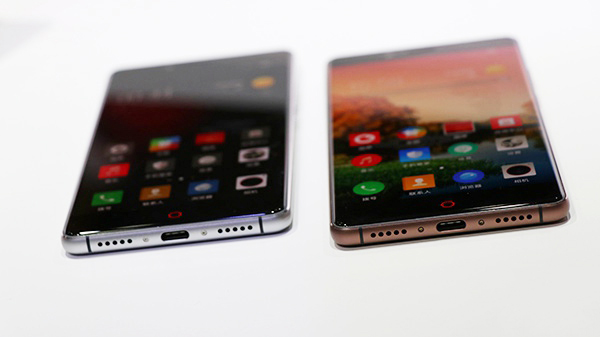 版本方面,nubia Z11提供2499元标准版(4GB+64GB,星空灰、皓月银、旭日金三色可选)和3499元尊享版(6GB+128GB,咖啡金)可选。    感兴趣的朋友可在7月6日(今天)上午10:00通过后方链接查看或直接购买nubia Z11无边框旗舰手机: