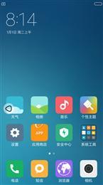 红米2A MIUIV8.1.2稳定版 主题破解 多功能 IOS布局 XP框架