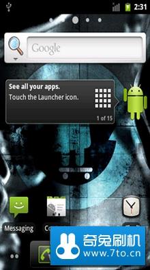 Cyanogen团队针对华为 U8220定制ROM