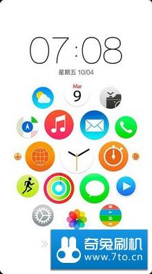 OPPO R815T MIUI刷机包 Apple Watch 精简 安全 稳定 已经完美ROOT,操作流畅,全局优化